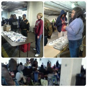 Toiletries and medication distribution